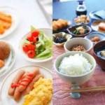 朝食サービス、及び、夕食サービス業務